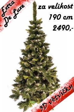 umělý stromeček Jedle LUX přírodní